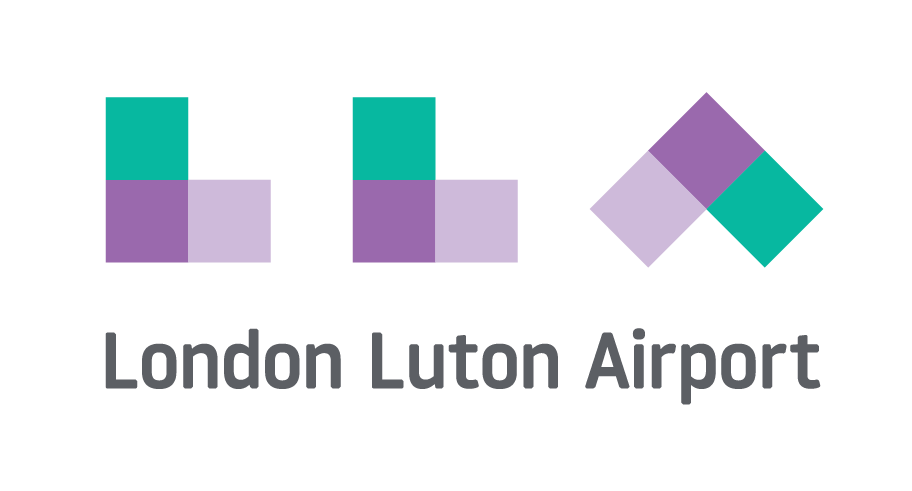 Image result for london luton airport logo