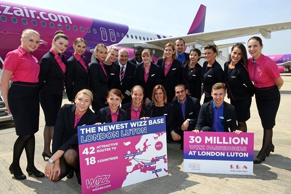 Wizz To Luton