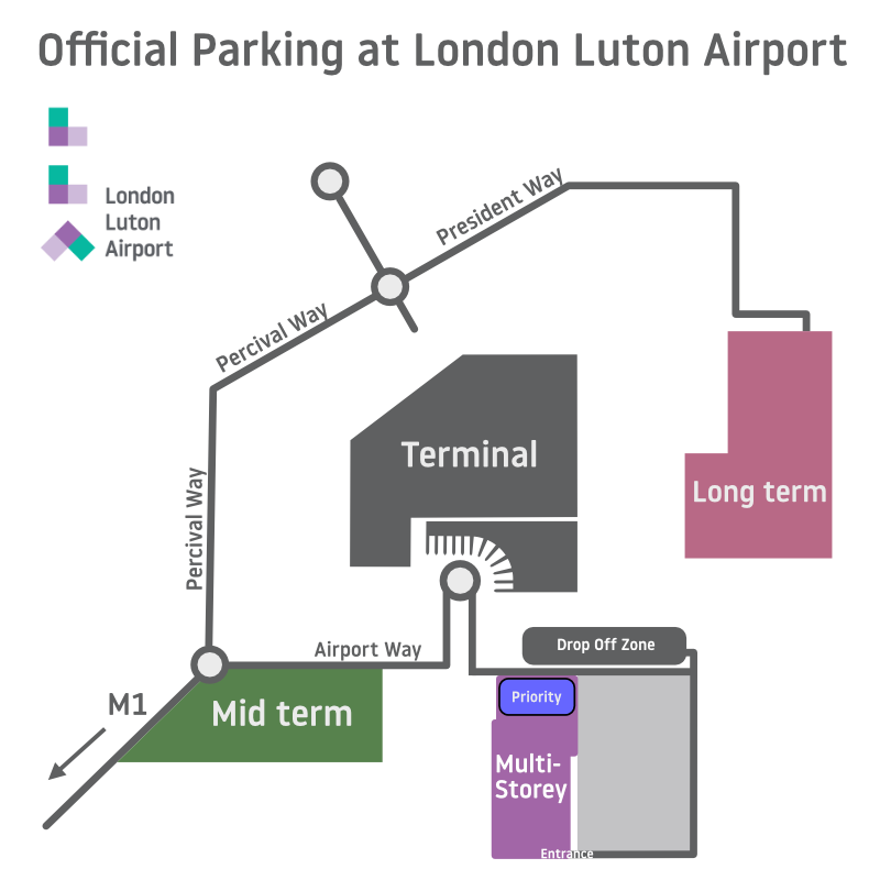 Luton Airport Parking Map London Luton Airport Parking Map | Save Up To 70% Online Luton Airport Parking Map